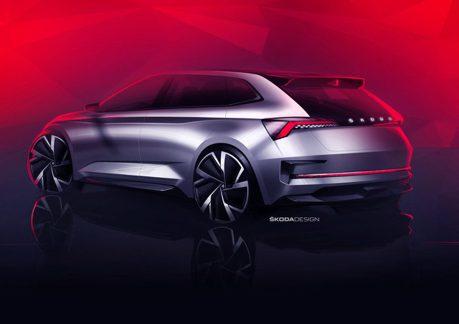 ŠKODA Vision RS Concept廠圖曝光 其實是新世代Rapid?