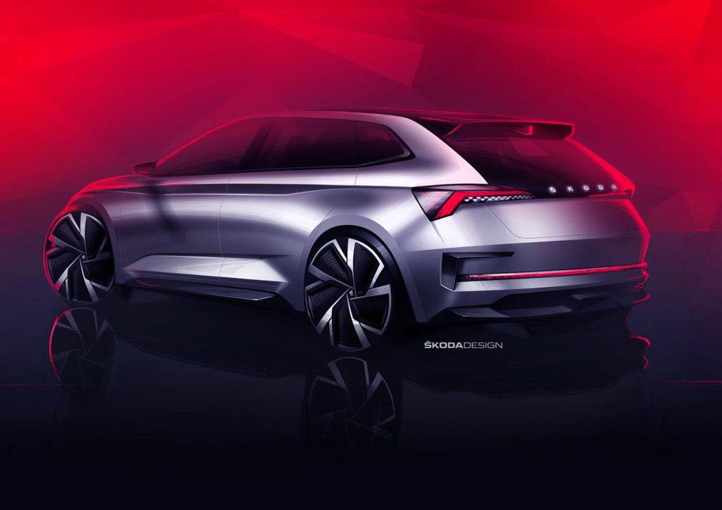 ŠKODA Vision RS Concept。 摘自ŠKODA