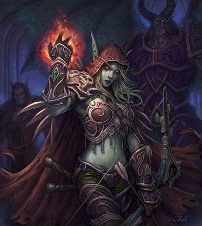 女妖之王希瓦納斯