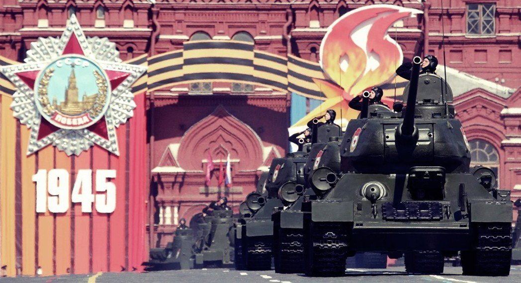 別國人可能會忘記,但每年5月9日,莫斯科紅場都還是要大張旗鼓地舉辦「勝利大閱兵」...