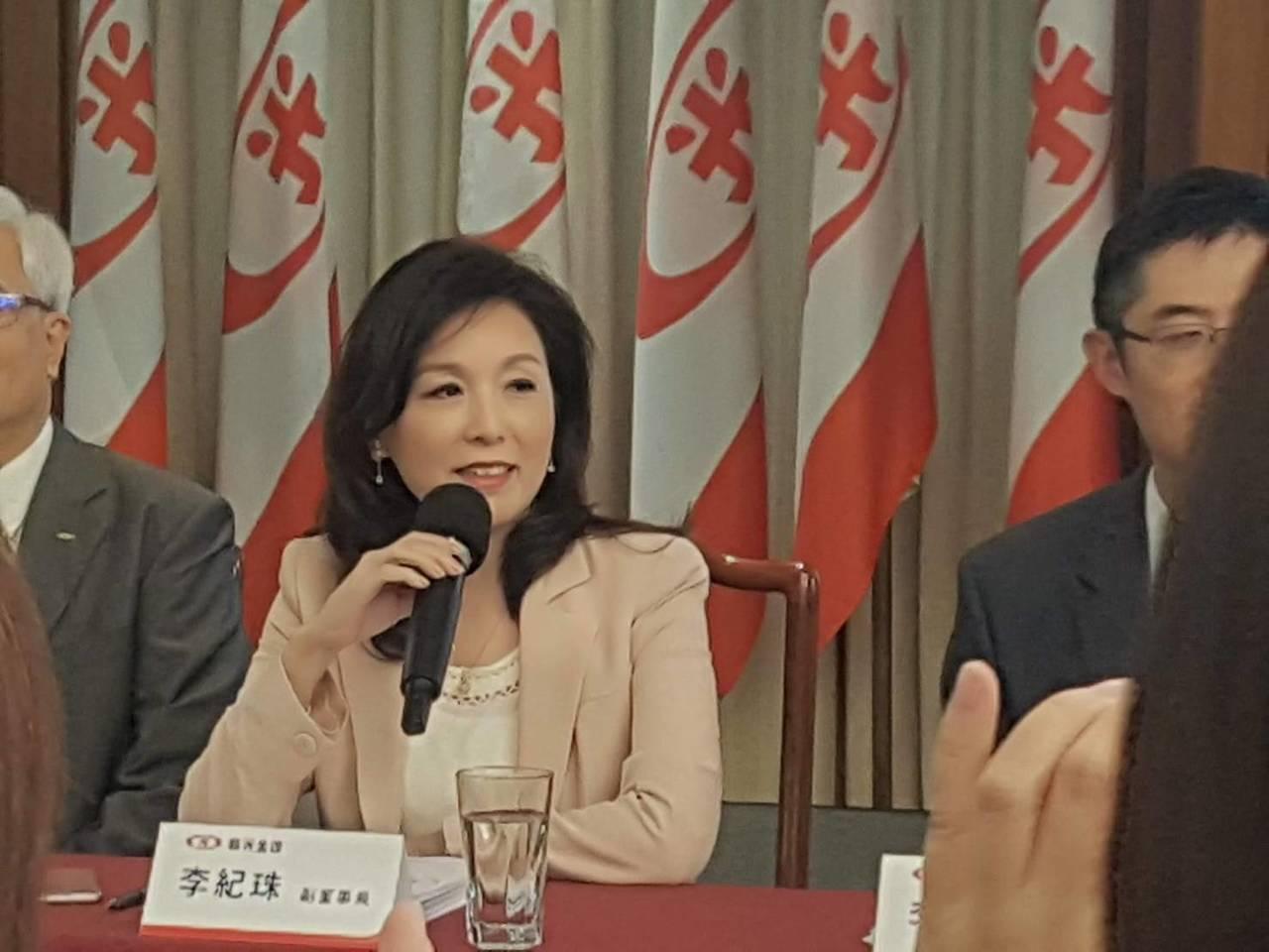 新光金控副董事長李紀珠。記者孫中英/攝影