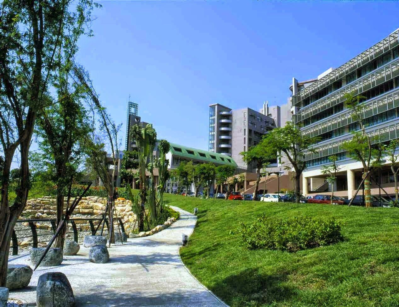 高雄樹德科技大學以設計科系見長,校區面積總計40公頃。圖/翻攝學校官網