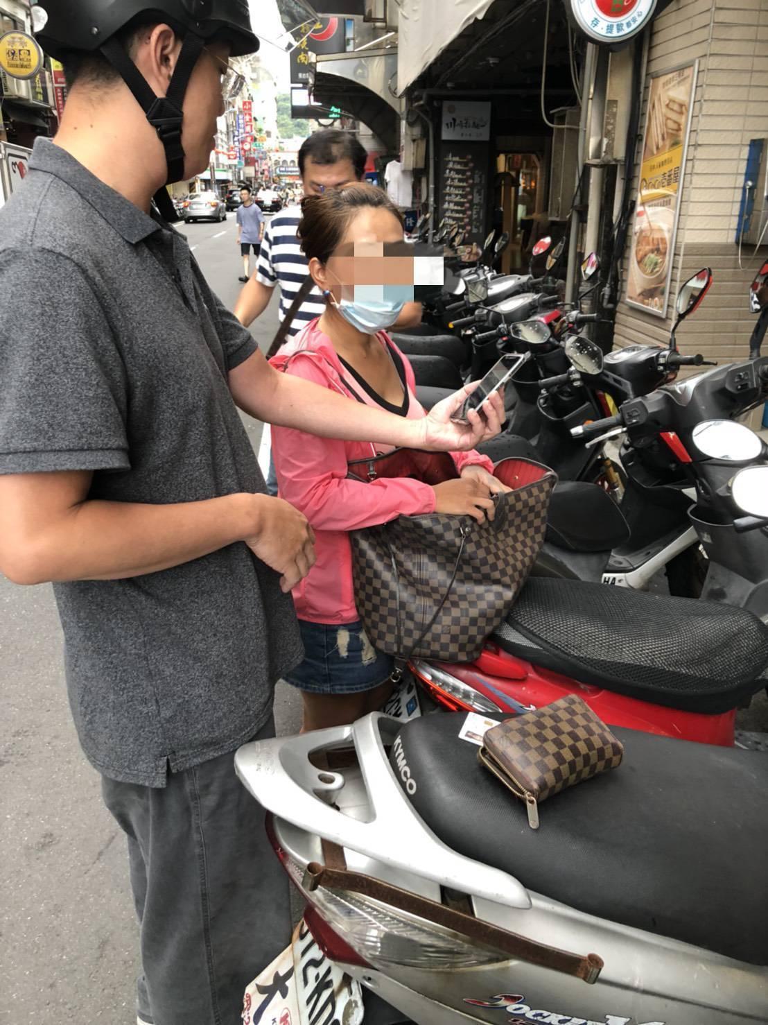 陳女昨在基隆被逮。圖/警方提供