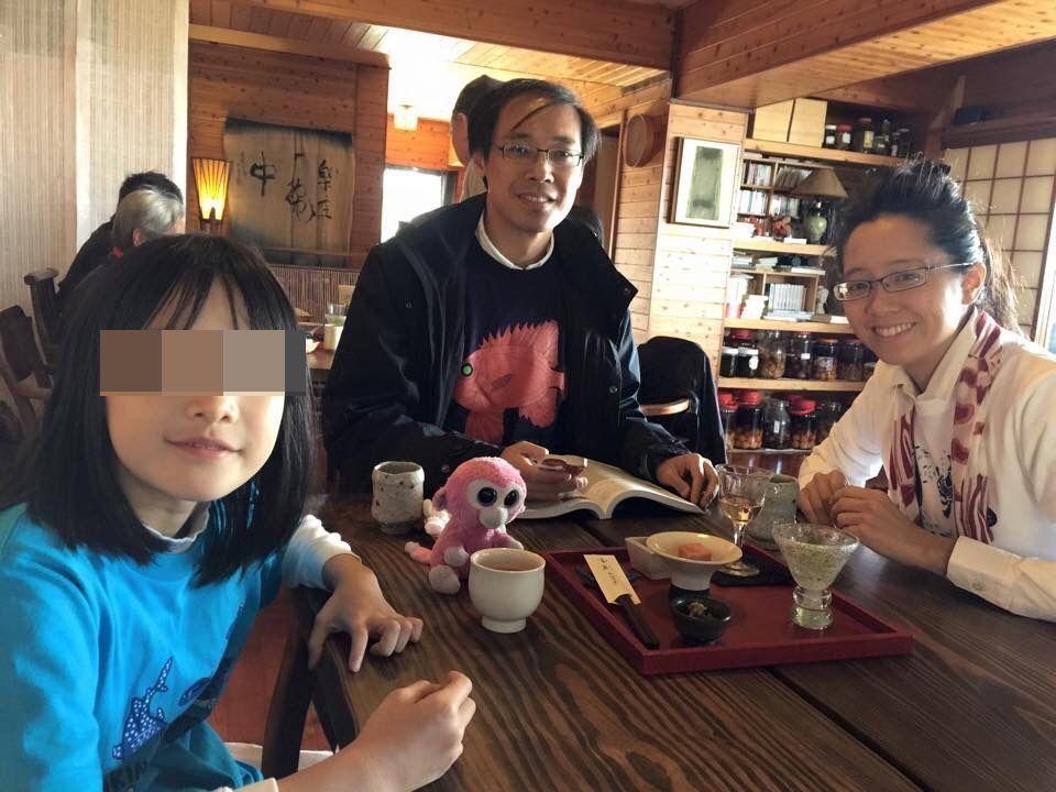 楊偉中、陳以真夫婦結婚12年,育有一女,一家三口關係緊密。摘自楊偉中臉書