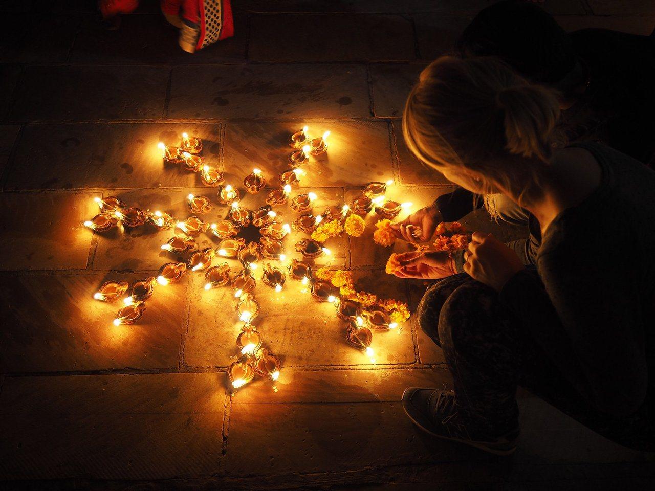 印度教年度最重要的慶典活動之一的「光明節」。圖/TripAdvisor提供