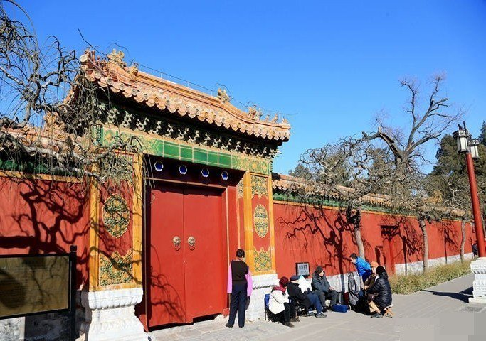 景山「觀德殿」預計明年將恢復開放。(頭條日報)