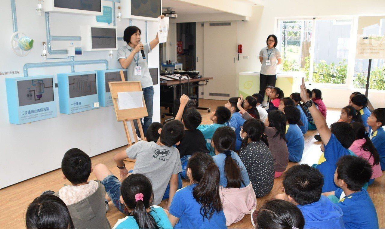 友達龍潭廠打造「GreenArk水資源教育館」,分享創新水回收工程技術及水資源知...