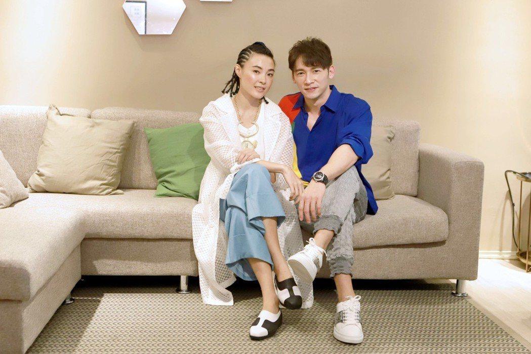 曾珮瑜、溫昇豪主演「雙城故事」。圖/民視提供