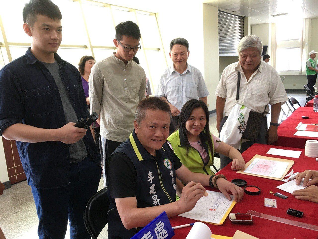 雲林縣第一選區議員李建昇將挑戰六連霸。圖/本報資料照