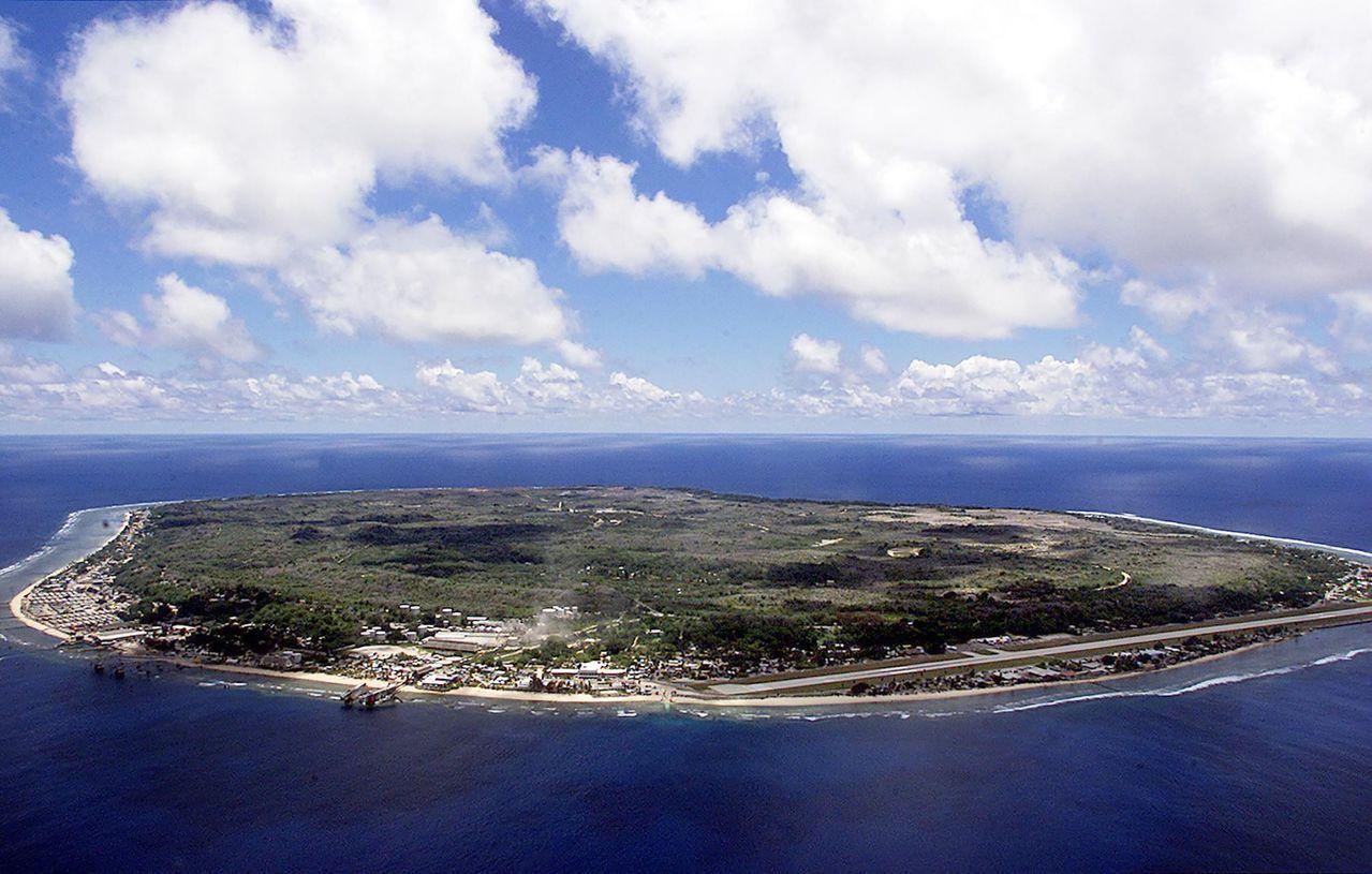 諾魯今年舉辦太平洋地區最大外交峰會「太平洋島國論壇」。法新社