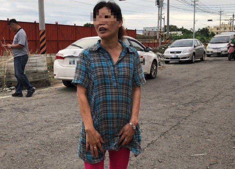陳女的嬸嬸聽聞李宏基伏法,坦言比較安心了。記者林伯驊/翻攝