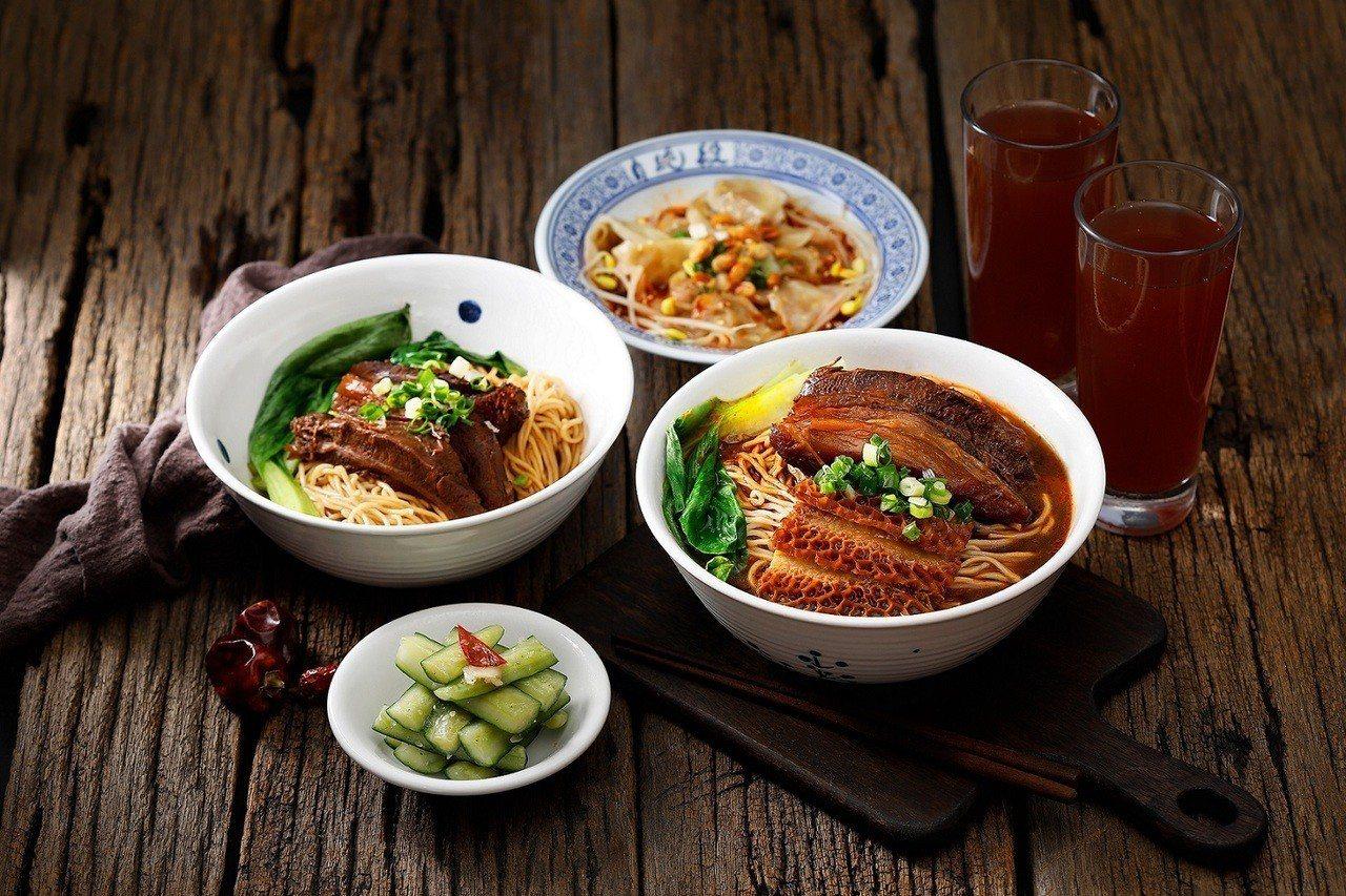 段純貞有多種不同的麵點。圖/王座國際餐飲提供