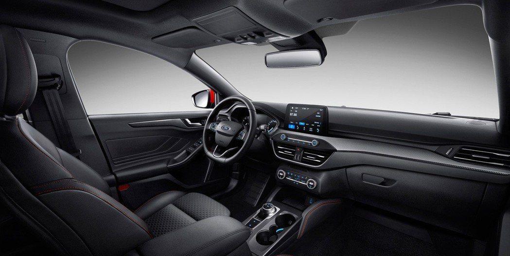 新世代Ford Focus內裝。 摘自長安福特