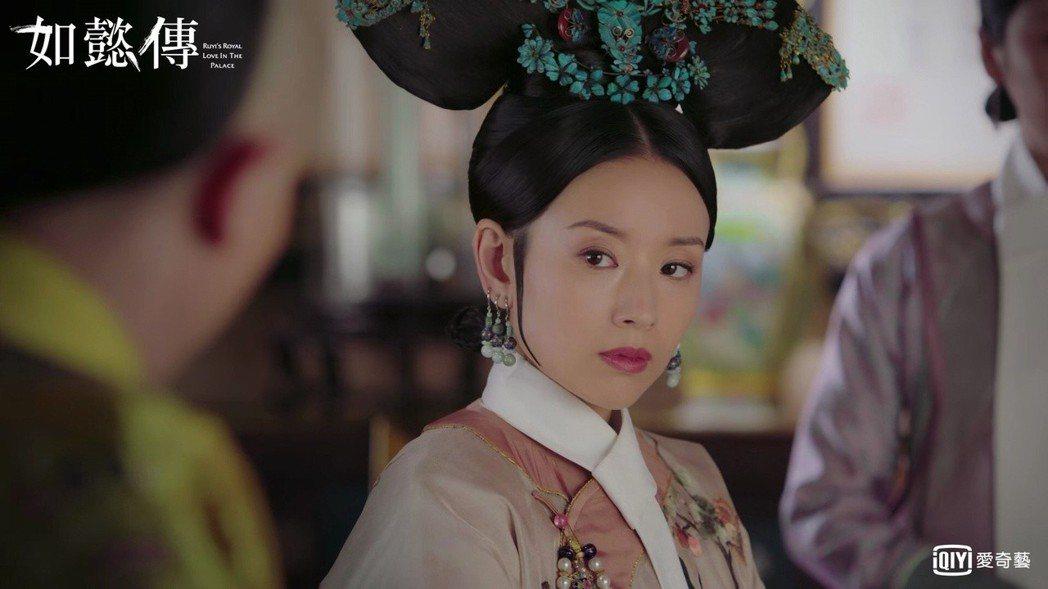 董潔在「如懿傳」中飾演腹黑版富察皇后。圖/愛奇藝台灣站提供