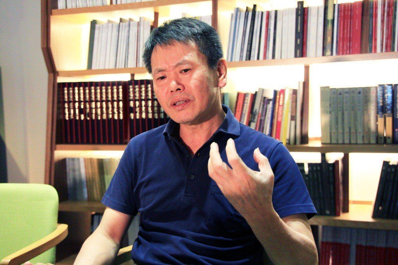 林為洲。聯合報系資料照/記者郭宣彣攝影
