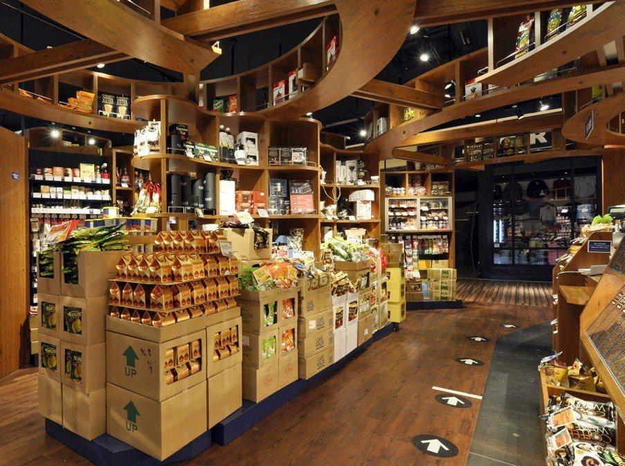 咖樂迪延續日本店型以「尋寶」為概念設計。圖/統一時代百貨提供