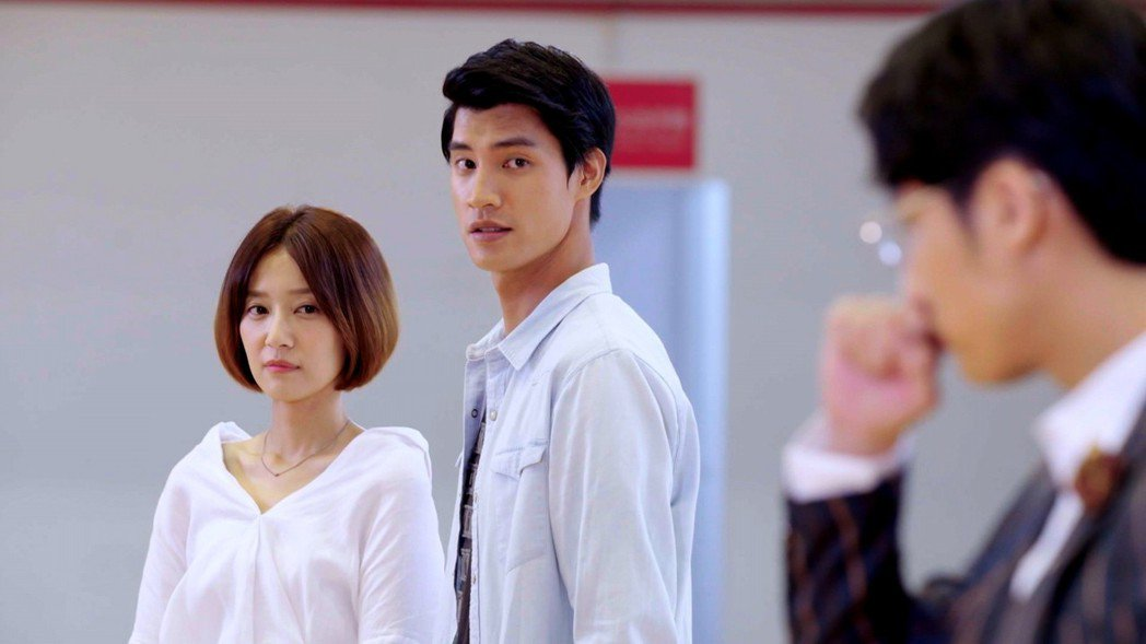羅宏正(右)和劉宇菁  圖/三立提供