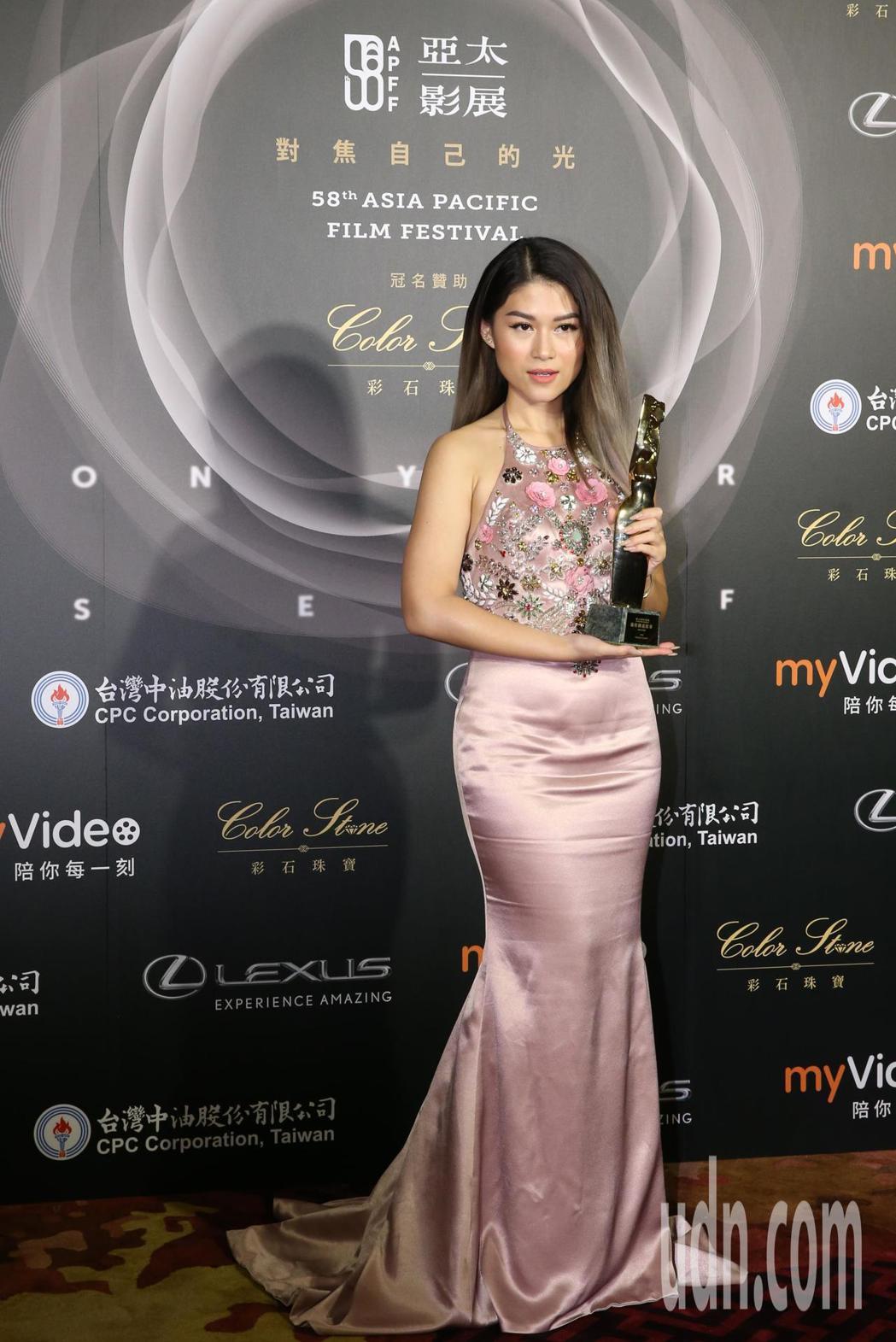 越南作品中途站《The Way Station》 奪下最佳創意故事獎,圖為女主角
