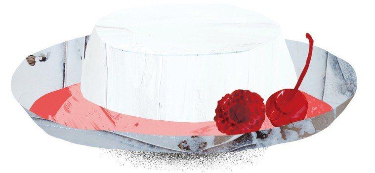 煉乳羊奶凍 繪圖/豆寶