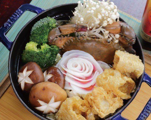 螃蟹海鮮湯