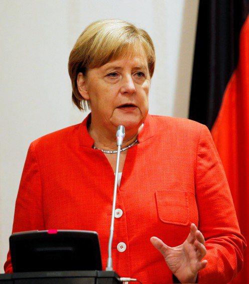 2015年呼籲歐洲對難民開啟大門的德國總理梅克爾。 (路透)
