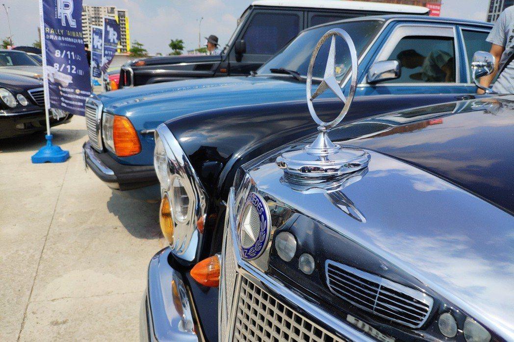 古董車是充滿溫度及歷史記憶的車款,也因此有升值的空間。 康晏棋/攝影