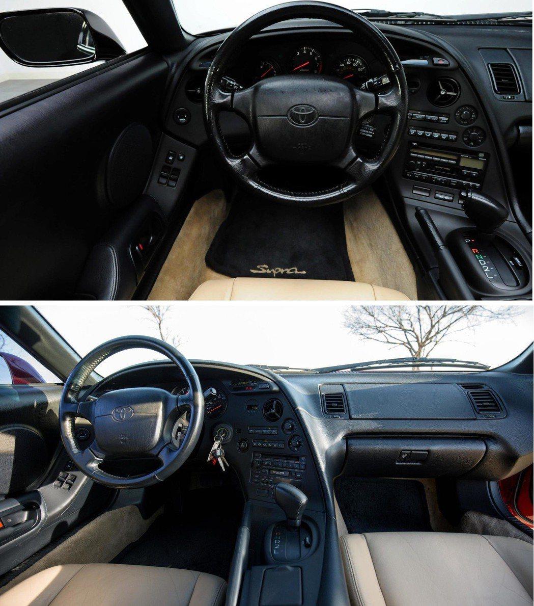 上一代Toyota Supra駕駛艙有如戰鬥機一般的包覆感。 摘自Motor1