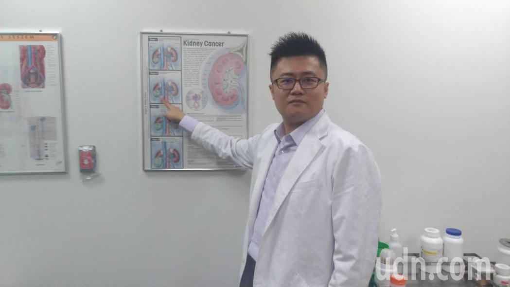 「有家族病史要注意!」郭謹瑋也警告,腎癌雖為列入國人十大癌症中,發病原因可能是因...