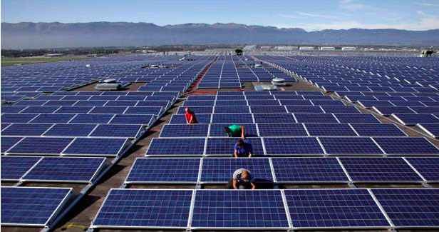 歐盟針對大陸太陽能面板反傾銷及反補貼限制措施,將於9月3日解除。(照片/金投網)
