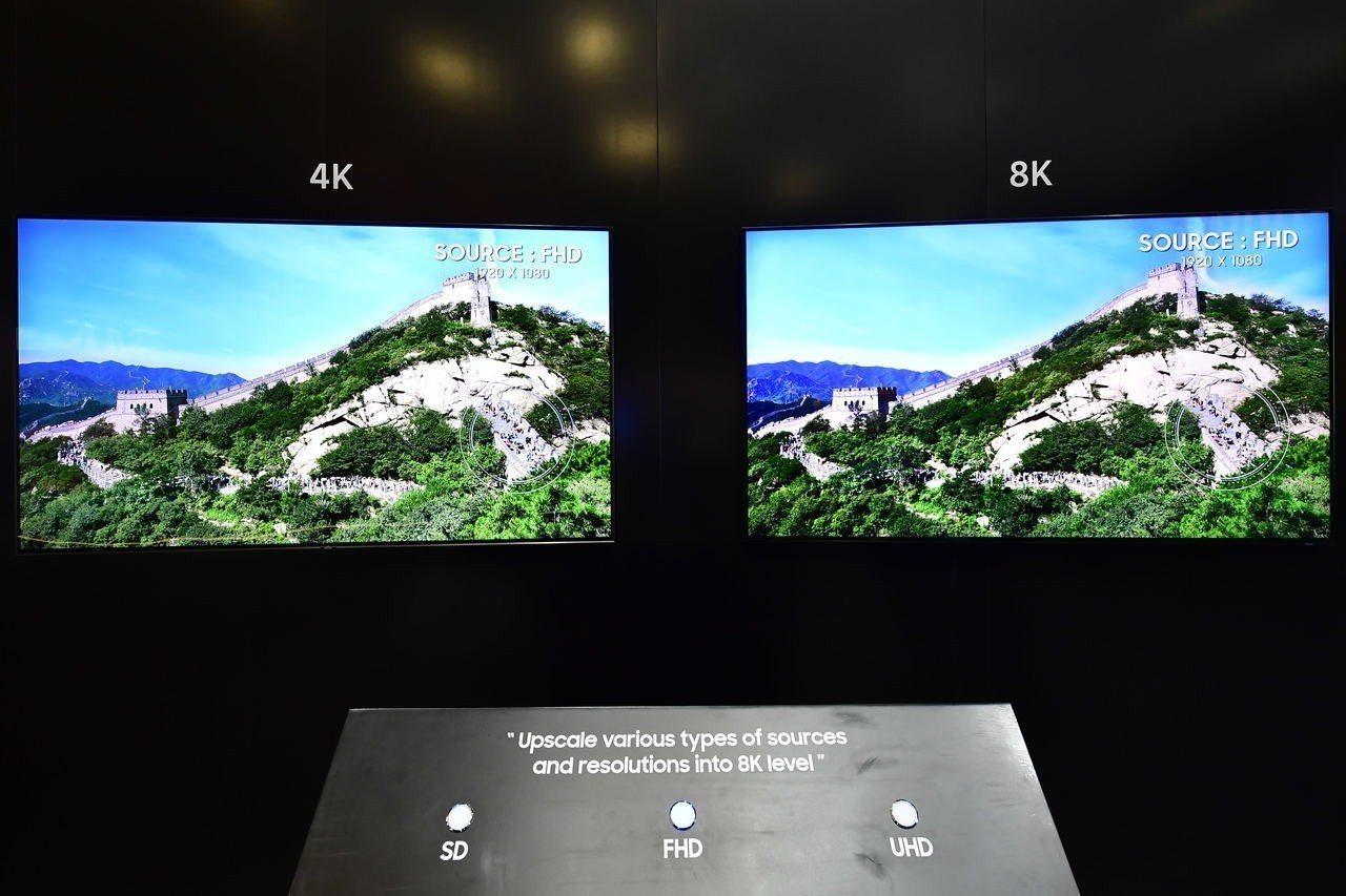 三星的8K AI影像升頻技術,不論原始端的品質或格式如何,都能讓影像在螢幕上達到...