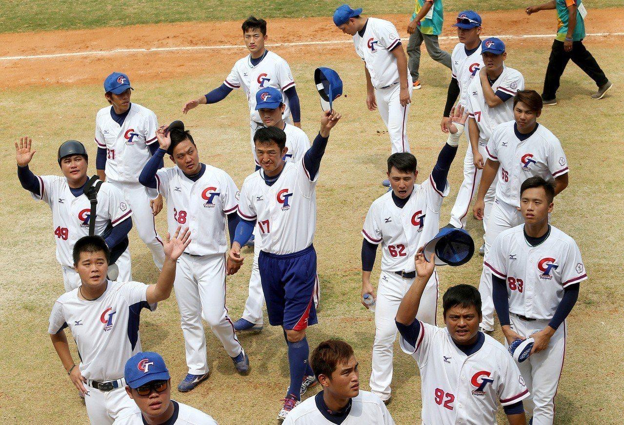 中華隊以10比0擊敗大陸隊,本屆亞運以銅牌作收。 圖/聯合報系資料照片