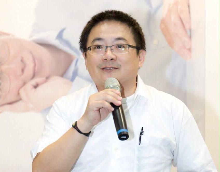 曾在2014年擔任柯文哲競選團隊「監票部隊」執行長的劉坤鱧。圖/摘自劉坤鱧臉書