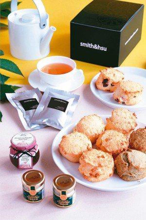 九Scone草莓戴克利屋瓦禮盒。 smith&hsu/提供