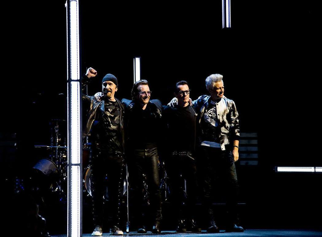 U2。圖/擷自臉書
