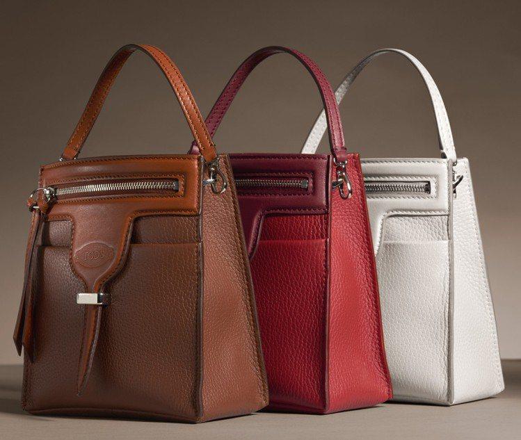 微型Thea Bag選色多樣,聚焦俏皮活力。 圖/TOD'S 提供