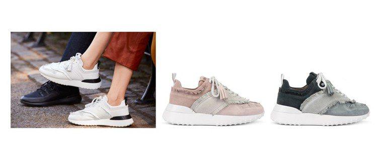 TOD'S以細膩皮革、襪套與流蘇細節為休閒鞋注入隨興輕裝感。 圖/TOD'S...