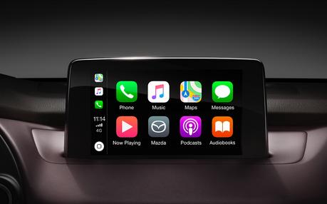 消費者有福了!MAZDA全車系支援選配Apple CarPlay 享受更智慧的行車體驗