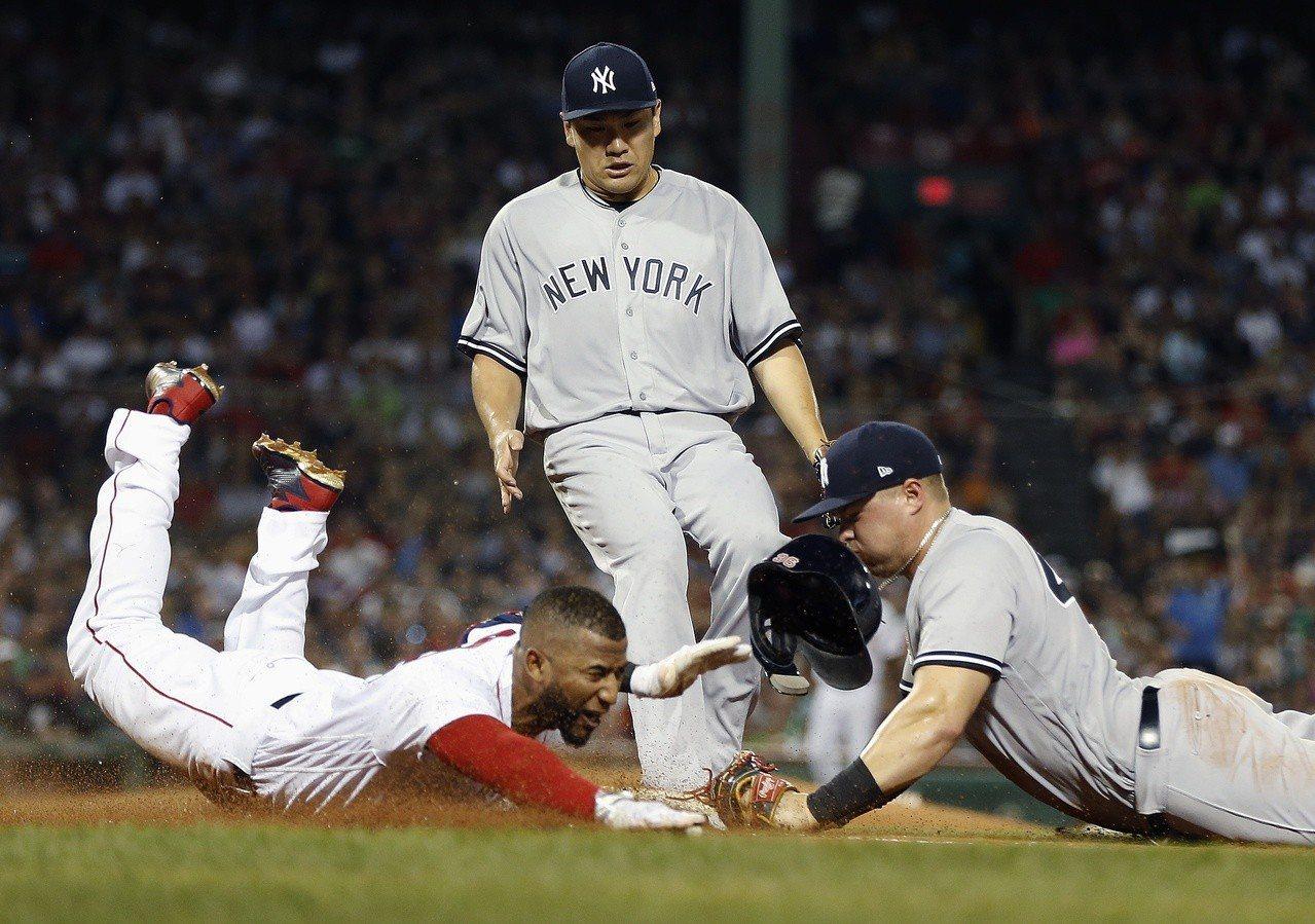 紅襪的勝差看似與洋基保持了一定的安全距離,可是賽季畢竟還剩一個月,豬羊變色機會並...