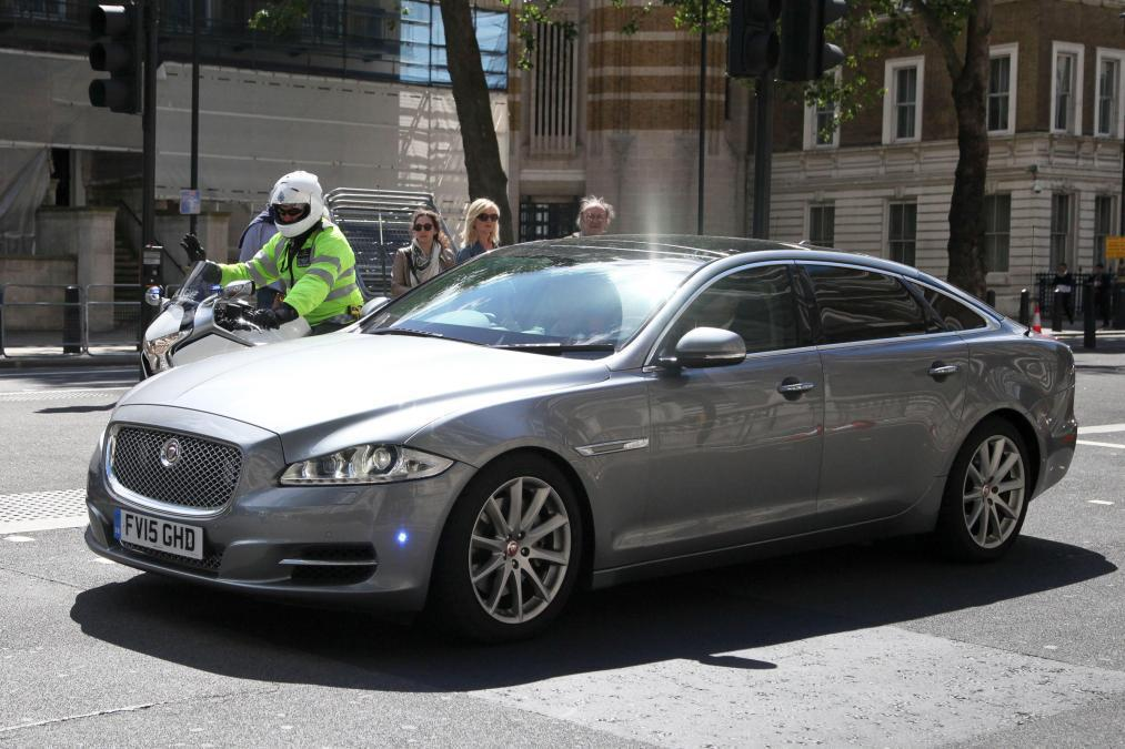 英國首相梅伊座車 Jaguar XJ 「the Sentinel」。 摘自autoexpress