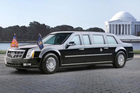 美國總統的電動豪華專車 帶電的「野獸」有譜?