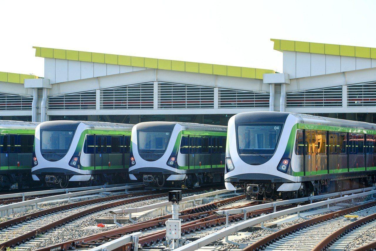 台中捷運綠線年底即將完工、試運轉,預計2020年全線通車。圖/台中市新聞局提供