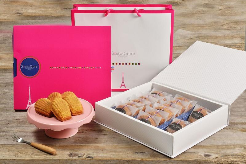 GC法式鳳梨酥禮盒,14入售價700元。圖/Gontran Cherrier提供