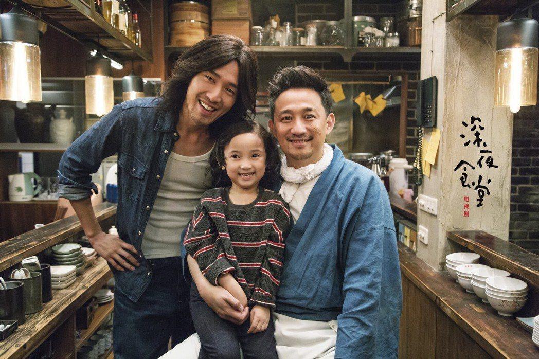 黃磊主演「深夜食堂」,每一集都有大咖,像是趙又廷。圖/緯來戲劇台提供