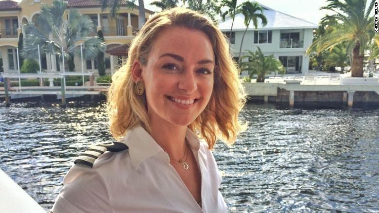 遊艇女管家尼爾森。 圖/翻攝CNN