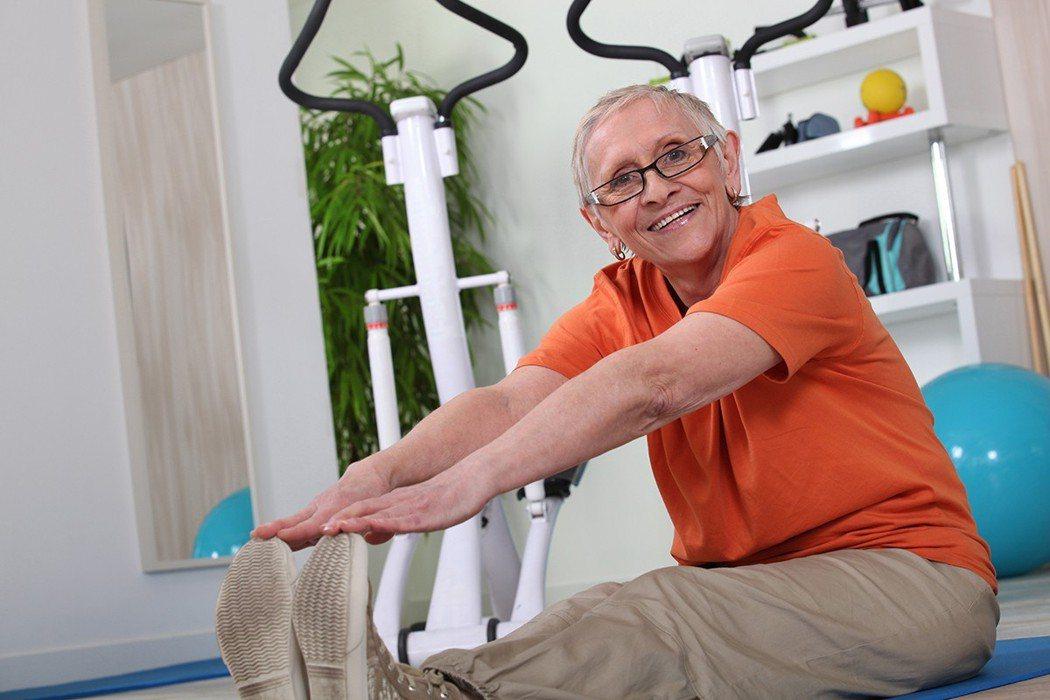 最新研究顯示,只要運動,都可避免腦部老化。 圖片來源/ingimage
