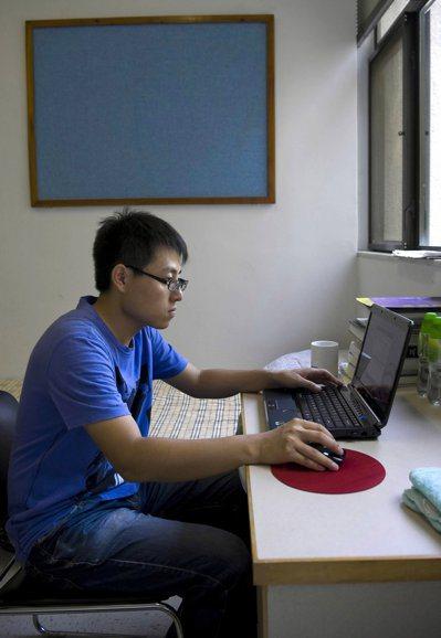 圖為香港中文大學宿舍內情形。新華社