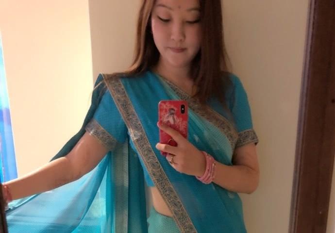嫁到印度的北京女子在微博歌頌印度生活,反被網友砲轟。 圖/擷自微博