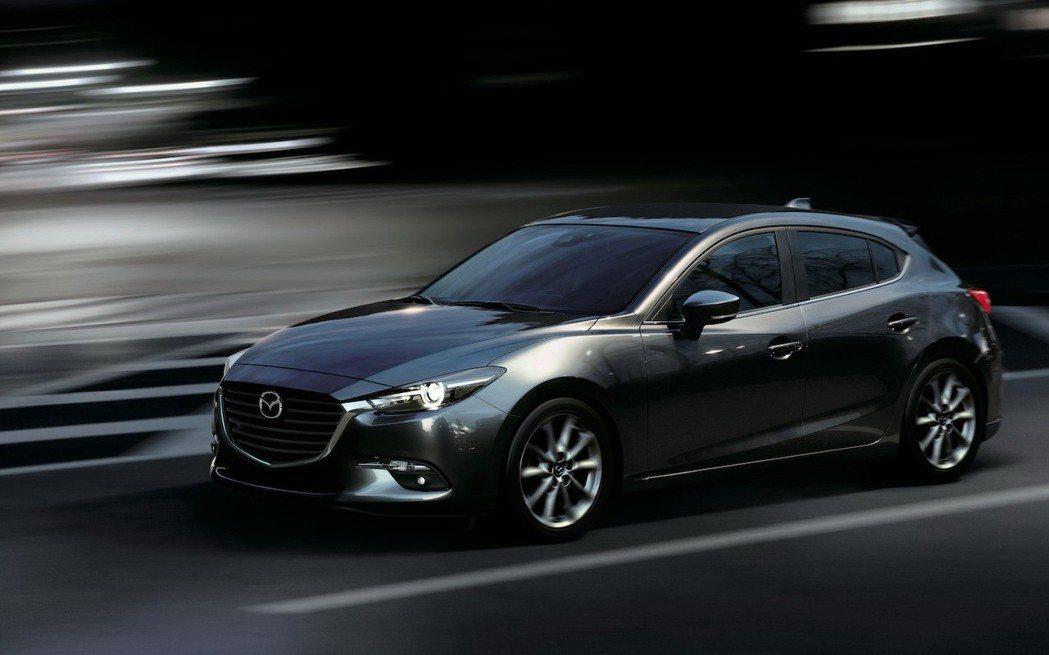 2019年式Mazda3。 圖/Mazda提供