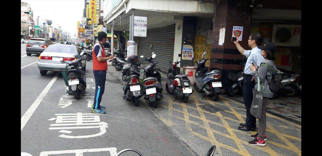 各縣市加強取締公車停靠站違停情況 圖/台南市交通局提供