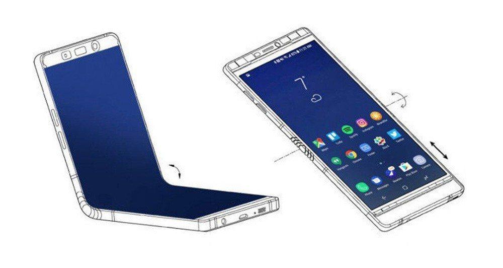 三星證實將推出折疊式手機,可能在11月的三星開發者大會發表。 網路照片